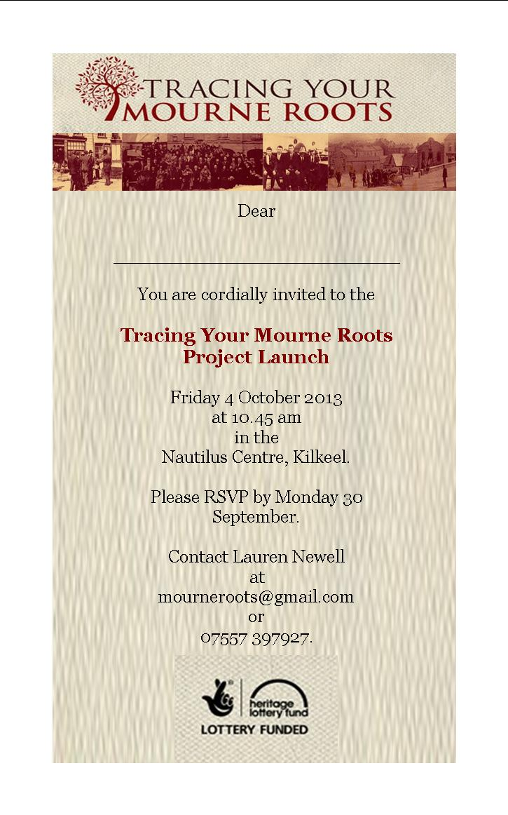 Invitation to Project Launch