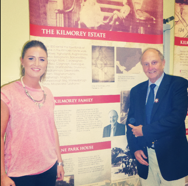 Visit from Sir Richard Needham, the 6th Earl of Kilmorey