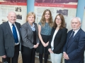 Tracing Your Mourne Roots project launch, 4 October 2013. Pictured are Gordon Coulter MBE, Pamela Houston CEO KDA, Lauren Newell Project Coordinator of Tracing Your Mourne Roots, Stella Byrne of HLF and Victor Aiken MBA of KDA.