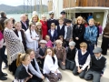 Emigration event in Warrenpoint aboard the Gulden Leeuw
