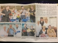 Coverage of TYMR at Kilkeel Fish Fest in August 2013 by The Outlook
