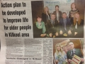 Article in Mourne Observer about event which TYMR attended and created a slideshow for in March 2014
