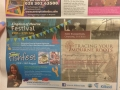Advertisement in the Irish News announcing opening of new exhibition, 29 June 2013