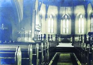 Interior of Church of Ireland