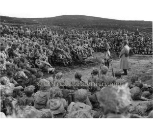 10th Infantry in Mournes with Patton
