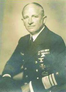 Admiral Otto Von Schrader, Commander of UB64