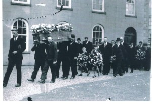 Funeral of Captain Robert Campbell