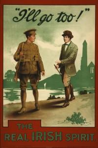 Irish Recruitment Poster