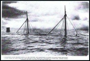 Remains of the SS Alder