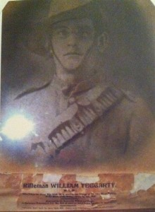 Rifleman William Teggarty